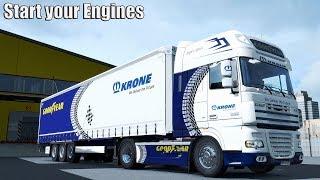 Download ✅ ETS2 Start your Engines Job 1 - Zürich to Geneve Video