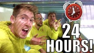 Download 24 HOUR FORT OVERNIGHT CHALLENGE IN WALMART! Video