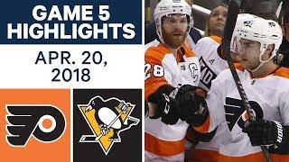 Download NHL Highlights   Flyers vs. Penguins, Game 5 - Apr. 20, 2018 Video