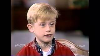 Download MACAULAY CULKIN - FIRST 'HOME ALONE' INTERVIEW Video