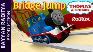 Download Thomas and Friends - The Great Race | Thomas Bridge Jump Roblox Remake Video