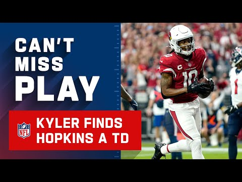 Kyler Finds Hopkins in the End Zone