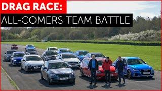 Download DRAG RACE *FUN*. RS3, M140i, Golf R, Focus RS, A45 AMG, i30N, Impreza. Hot Hatch w/ Tiff Needell Video