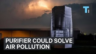 Download Giant air purifier could solve China's air pollution problem Video