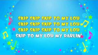 Download Skip to My Lou | Sing A Long | Skipping Song | Action Song | Nursery Rhyme | KiddieOK Video