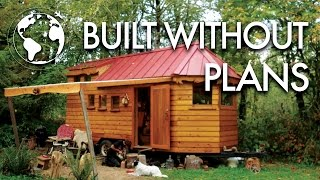 Download Artisan Crafts Beautiful Tiny House from Salvaged Trailer Video