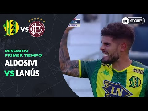 Resumen Primer Tiempo: Aldosivi vs Lanús | Fecha 17 - Superliga Argentina 2019/2020