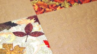 Download How to Make a Self Binding Placemat for the Holidays Video