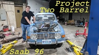 Download Upgrading My Saab 96 to a Two Barrel Carb - Part 1 Video