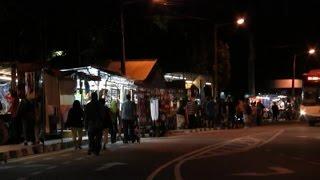 Download Batu Ferringhi Night Market Penang MALAYSIA Video