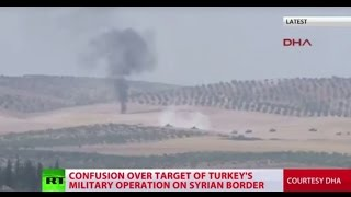 Download Turkey launches military op in Syria to free ISIS-held city of Jarablus Video