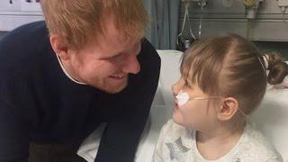 Download Ed Sheeran Serenades Girl With Rare Disease Who Calls Him Her 'Prince Charming' Video