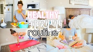 Download My Healthy Morning Routine 2017! Video