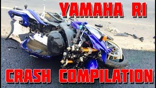 Download Yamaha R1 - CRASH Compilation [HD] Video