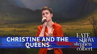Download Christine And The Queens Perform 'Comme Si' Video