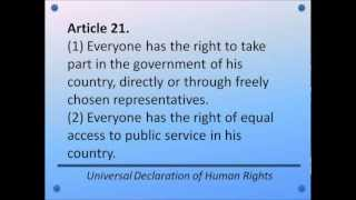 Download Universal Declaration of Human Rights - Articles 1-30 - Hear and Read the Full Text Video