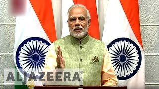 Download Modi defends move to demonetise high-value currency Video