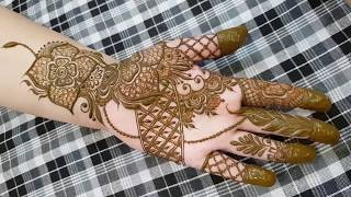 Hv Creations Of Henna Design 5 Heena Vahid Free Download Video