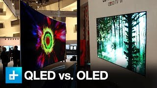 Download Samsung QLED vs LG OLED - Flagship TV Shootout Video