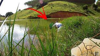 Download QUE SUSTO! FUI PESCAR CAMARÃO, OLHA O QUE PEGUEI. Pescaria caipira. Video