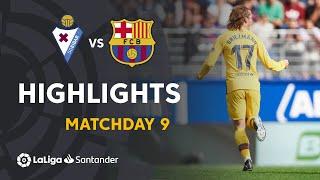 Download Highlights SD Eibar vs FC Barcelona (0-3) Video