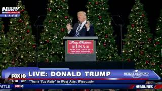 Download FULL: Donald Trump Thank You Rally in West Allis, Wisconsin Video