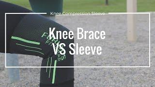 Download Knee Compression Brace vs Sleeve Video