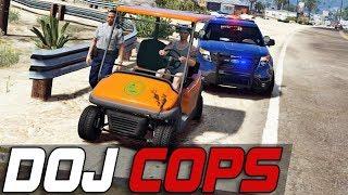 Download Dept. of Justice Cops #352 - Golf Kart Trouble (Criminal) Video