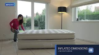 Download AeroBed® Comfort Superior Raised Double - inflatable airbed Video