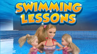 Download Barbie - The Twins Learn to Swim | Ep.93 Video