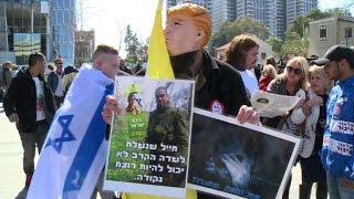 Download Azarial trial: Tel Aviv protesters disappointed by verdict Video