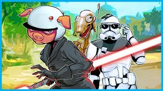 Download I'M THE WORST DROID EVER!!! - STAR WARS BATTLEFRONT II GAMEPLAY! (Droids vs. Clone Troopers) Video