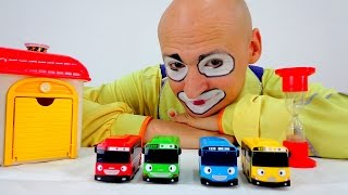 Download Clown & Tayo Toys. Car Games for kids. Video