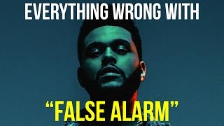 Download Everything Wrong With The Weeknd - ″False Alarm″ Video