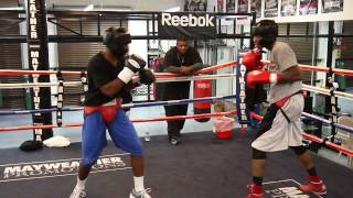 Download Things get serious at the Mayweather Boxing Club Video