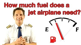 Download How much fuel does a jet airplane need? Explained by Captain Joe Video