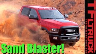 Download 2017 Ram Power Wagon Off-Road Review: Sand and Rocks in the Valley of Fire Video