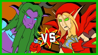 Download Malfurion v Valeera: A Hearthstone Cartoon | Wronchi Animation Video