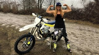 Download The Strongest Enduro Girl Rider of Hard Enduro - Megs Braap #143 Video