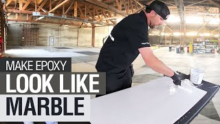 Download Use Epoxy To Give Your Countertops A Marble Look! Video