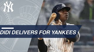 Download Didi swats two HRs, plates eight, makes Yankees history Video