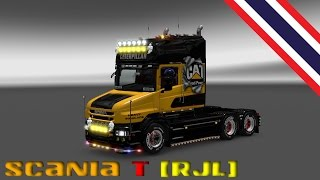 Download [Thailand] Euro Truck Simulator 2 MOD Scania T Tuning Packs 1.26.XX Video