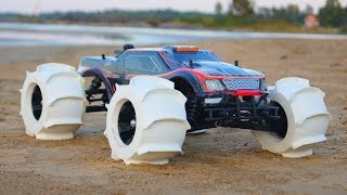 Download NEW 3D Printed RC Car Tires - Driving on Water!!! Video
