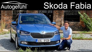 Download Skoda Fabia FULL REVIEW Facelift 2019 Estate Combi vs Hatch new neu - Autogefühl Video