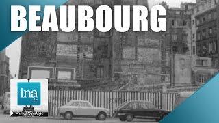 Download Beaubourg avant le Centre Pompidou | Archive INA Video