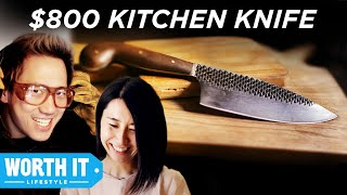 Download $8 Kitchen Knife Vs. $800 Kitchen Knife Video