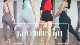 Download GYM CLOTHES HAUL ♡ GYMSHARK | LVFT | LULULEMON | FOREVER21 | NIKE ♡ TRY-ON Video