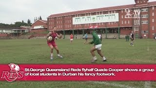 Download Quade Cooper fancy footwork in Durban Video