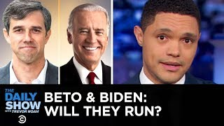 Download Beto O'Rourke's Texas-Sized Tease & Joe Biden's Lead in Presidential Polls | The Daily Show Video