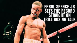 Download TRILL BOXING TALK LIVE WITH ERROL SPENCE JR. AND 78 SPORTS TV SPECIAL EDITION Video